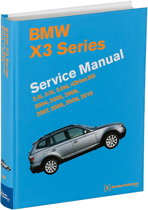 BMW X3 (E83) Service Manual: 2004-2010 - photograph