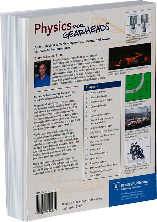 Physics for Gearheads by Randy Beikmann photograph